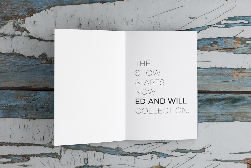Ed and Will catalogue- Anna Falcó- Graphic Design and Illustration