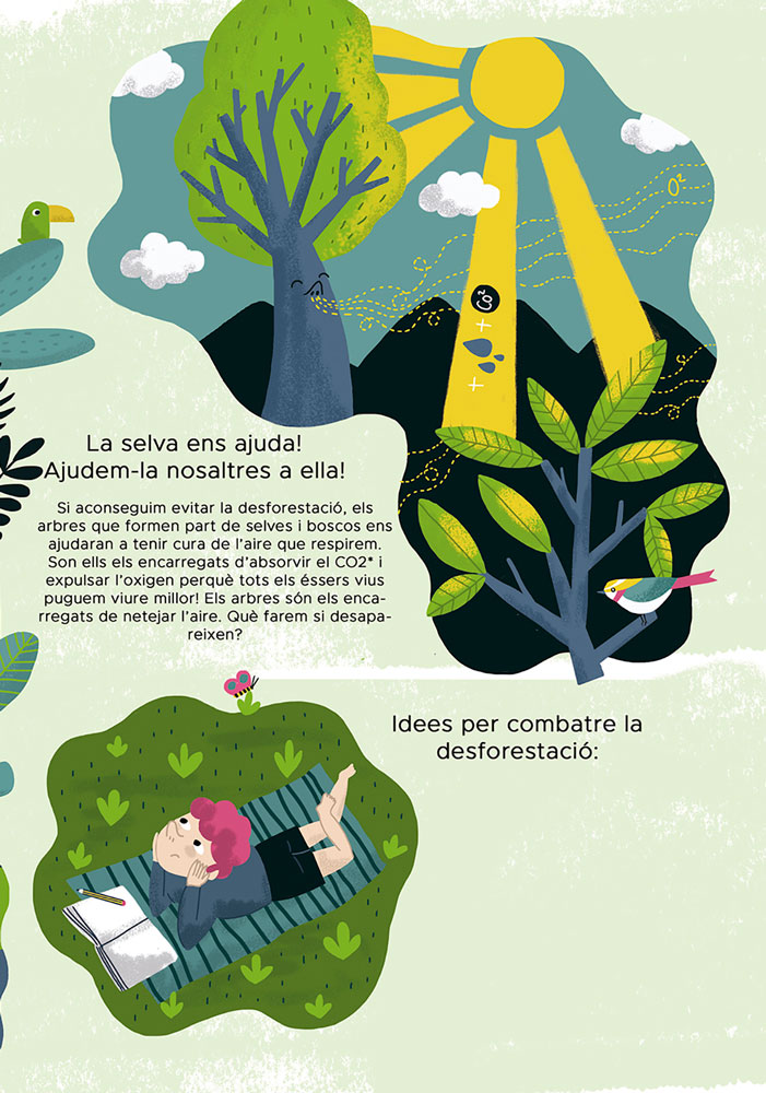 revista namaka - kids illustration