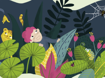 jungle illustration revista namaka